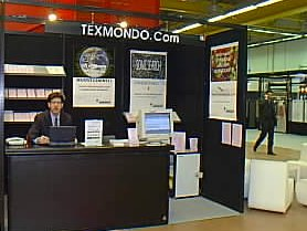 Texmondo stand at Intimare Fair (Italy) - February 1999 / 2000