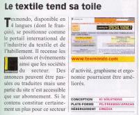 die französische Presse spricht von Texmondo.com