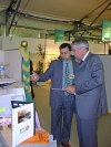 Texmondo.com at Expofil (France) - December 1998 / 2000